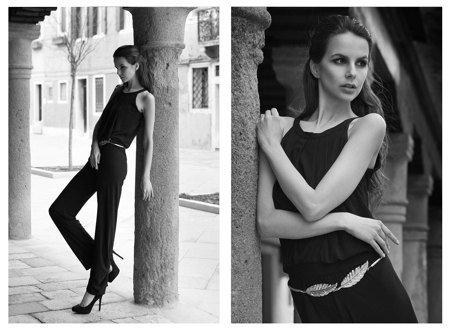 Catalogue Fashion shooting in Venice
