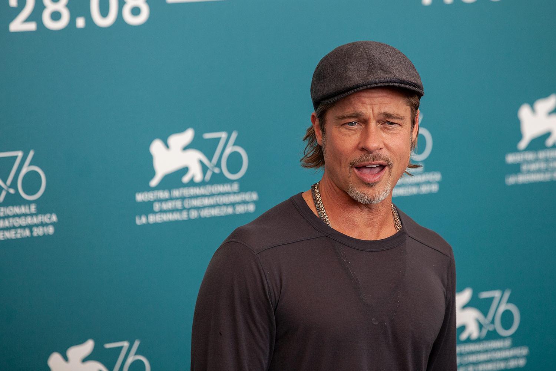 Brad Pitt Attending photocall