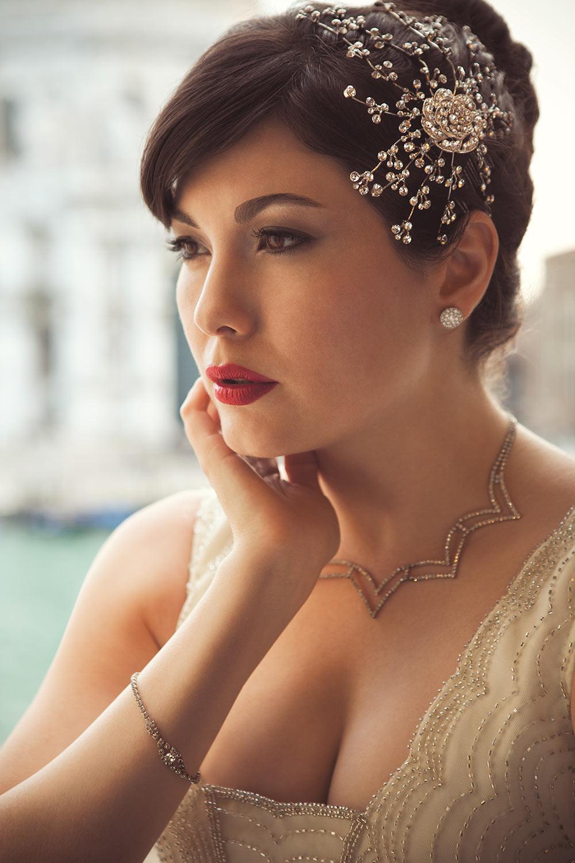 Celeste Thorsono in Venice