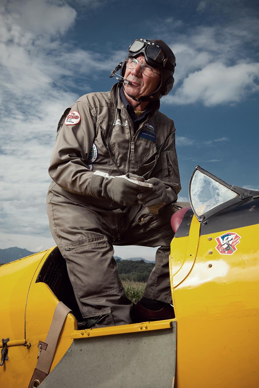 Pilot portrait Giancarlo Zanardo