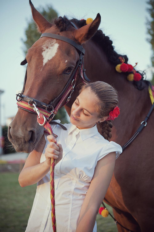 Ritratto con cavallo