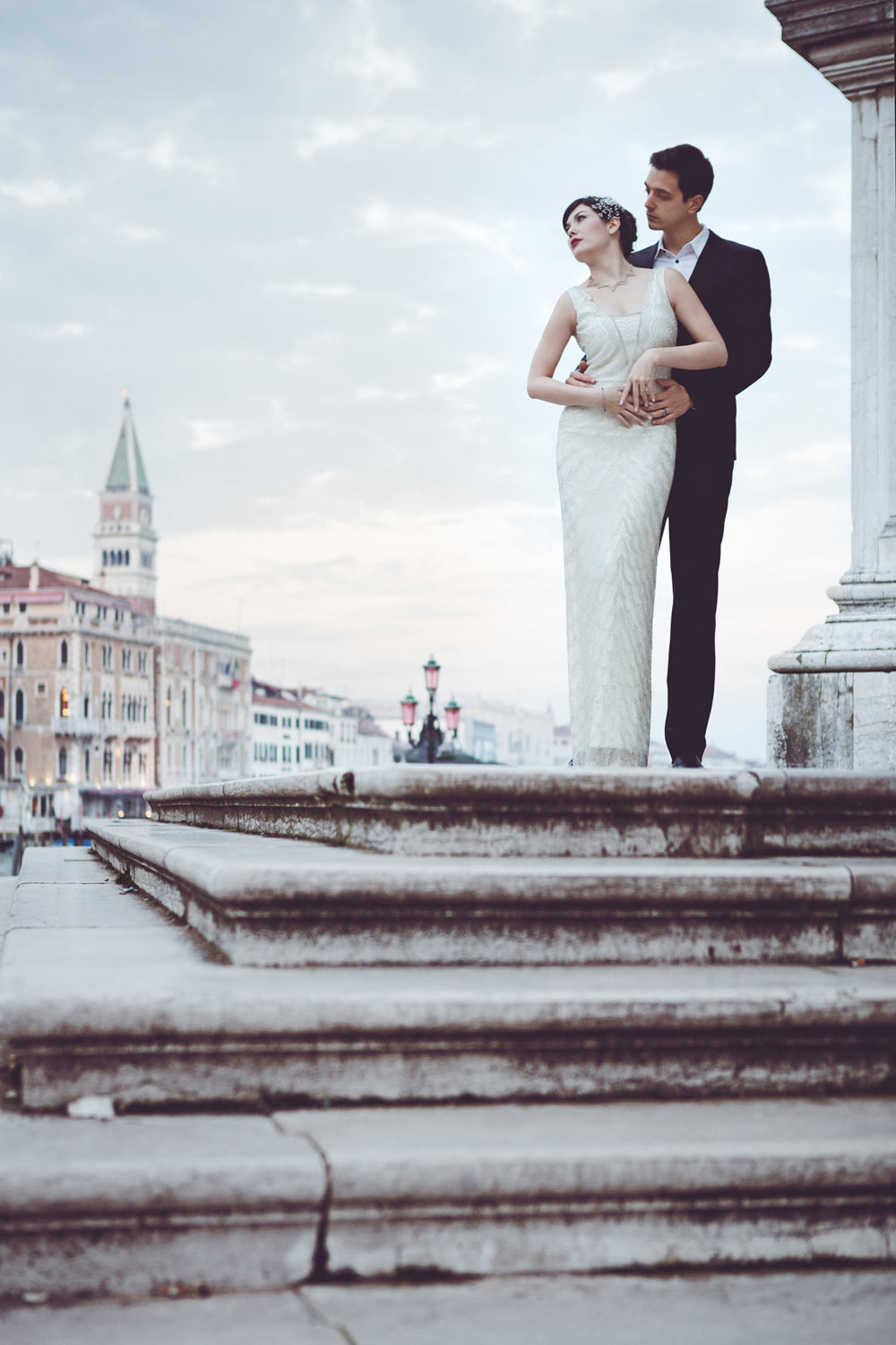 Romantic Moment in Venice