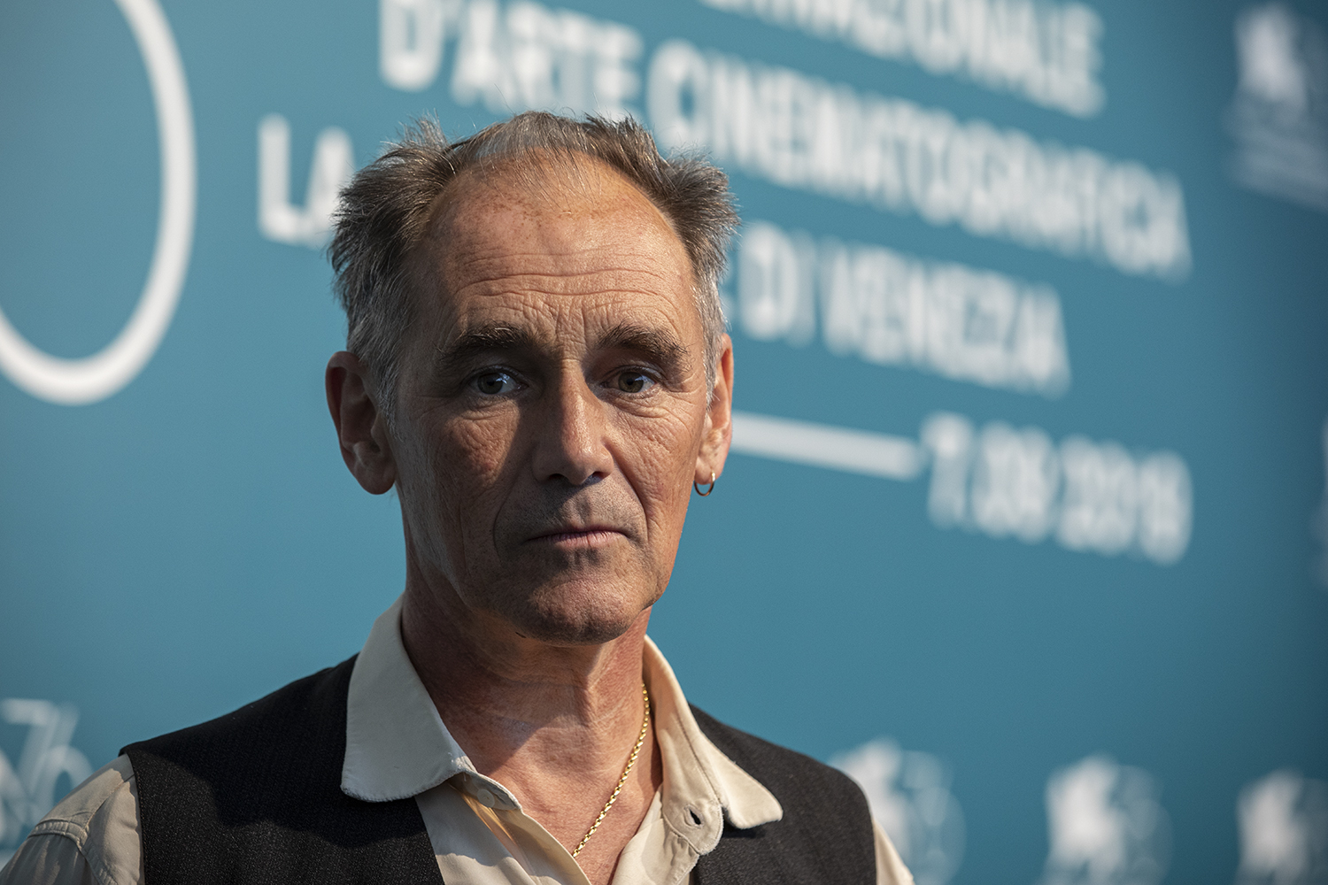Mark Rylance at the 76 Venice Film Festival