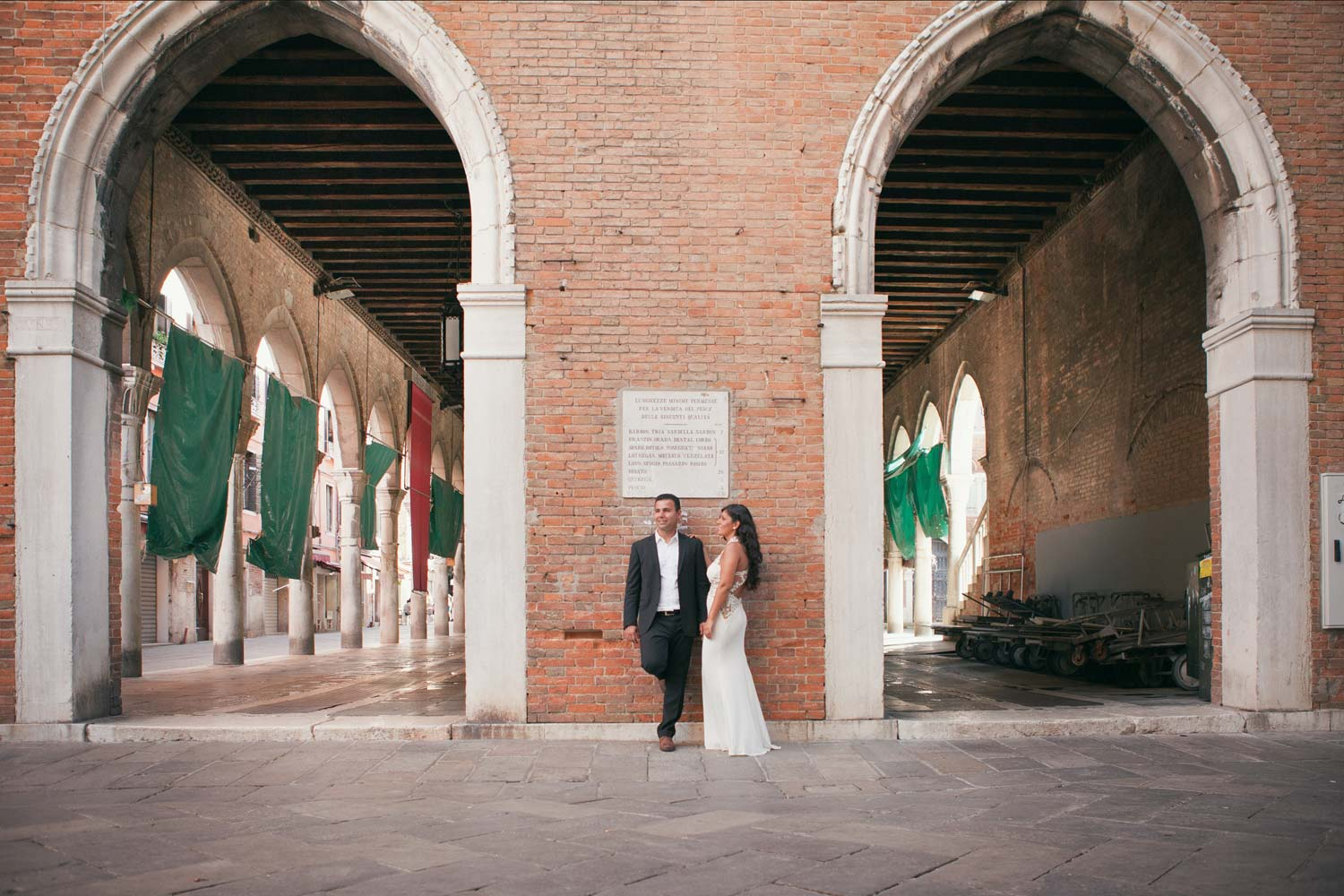Couple in Venice