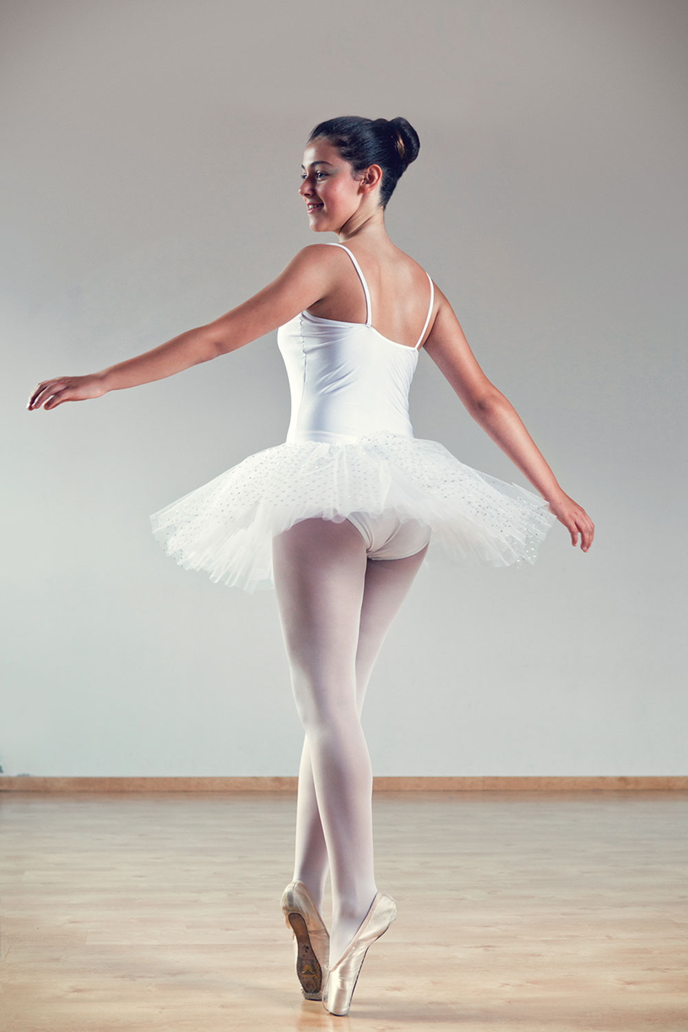 Portrait of young dancer