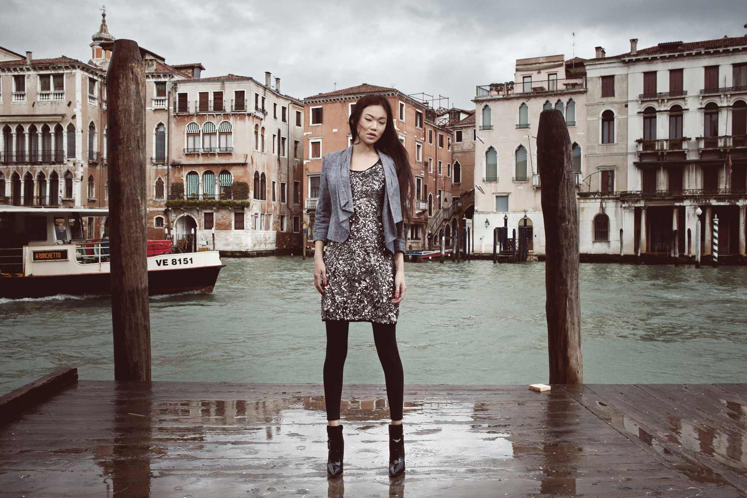 Fashion pictures in Venice