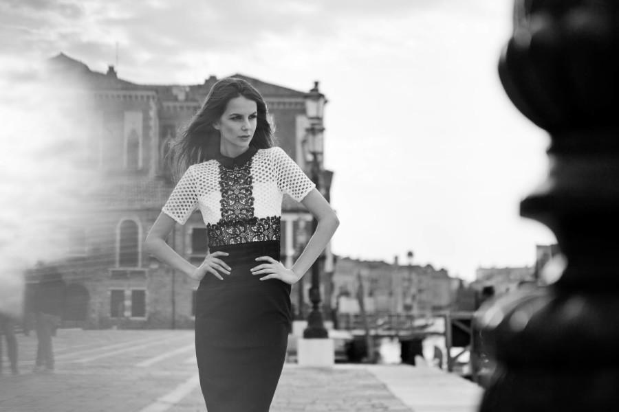 Photo model in Venice
