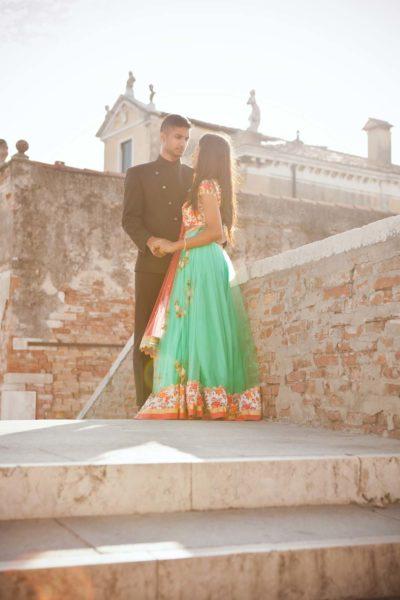 Ritratti di coppia a Venezia con Anick & Balu