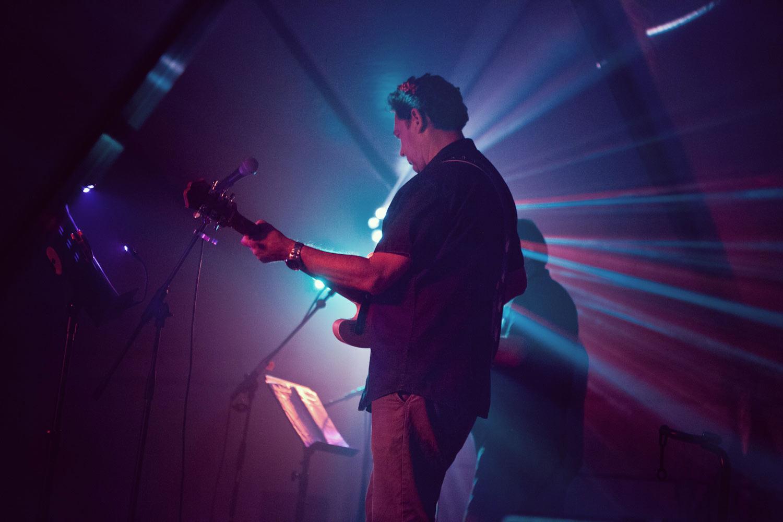 Fotografie del palco di un concerto