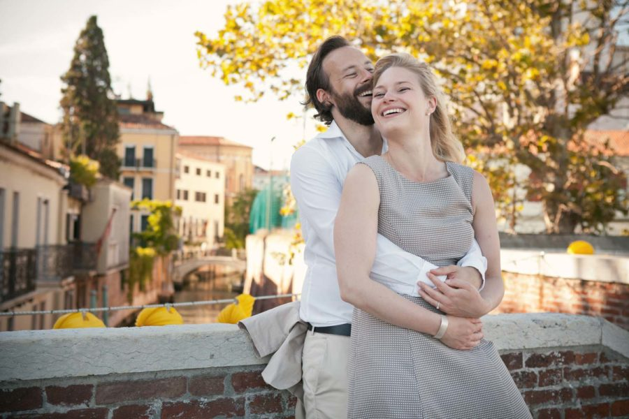 Couple photo shoot in Venice