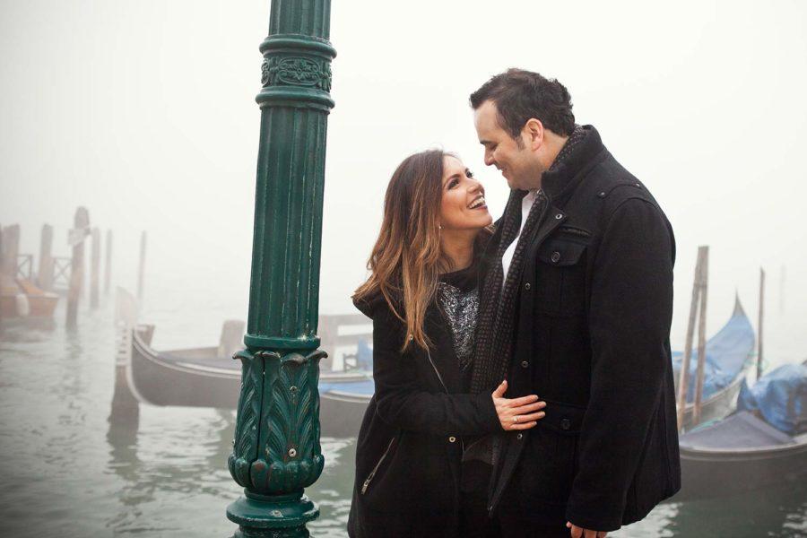 couple portrait in Venice