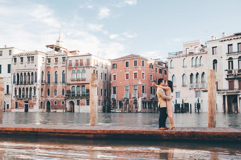 Portrait minisession in Venice