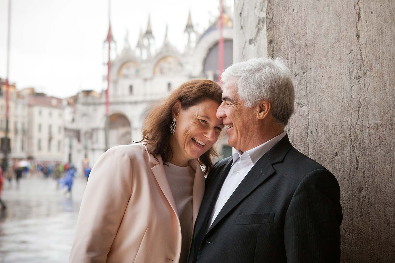 couple portrait in Venice