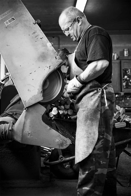 Fotografia industriale - La fonderia