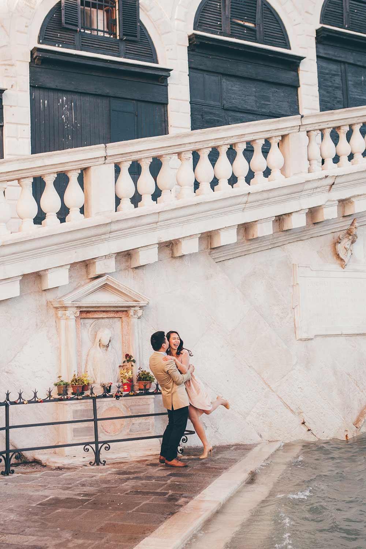 Ritratto di coppia a Venezia