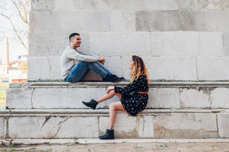 Foto di coppia a Castello - Venezia