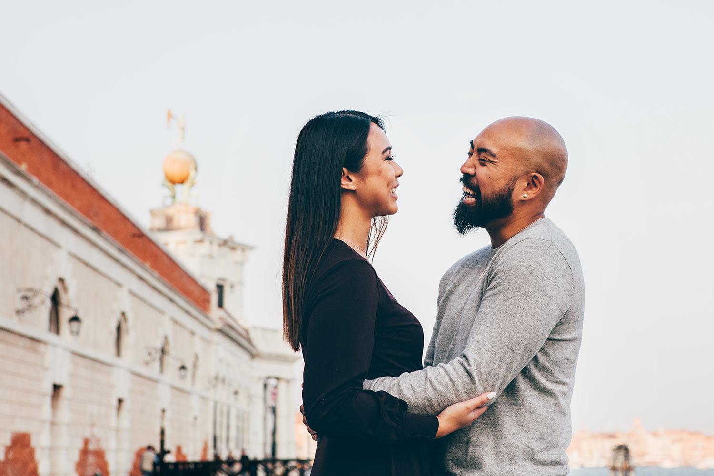 Servizio fotografico di coppia a Venezia