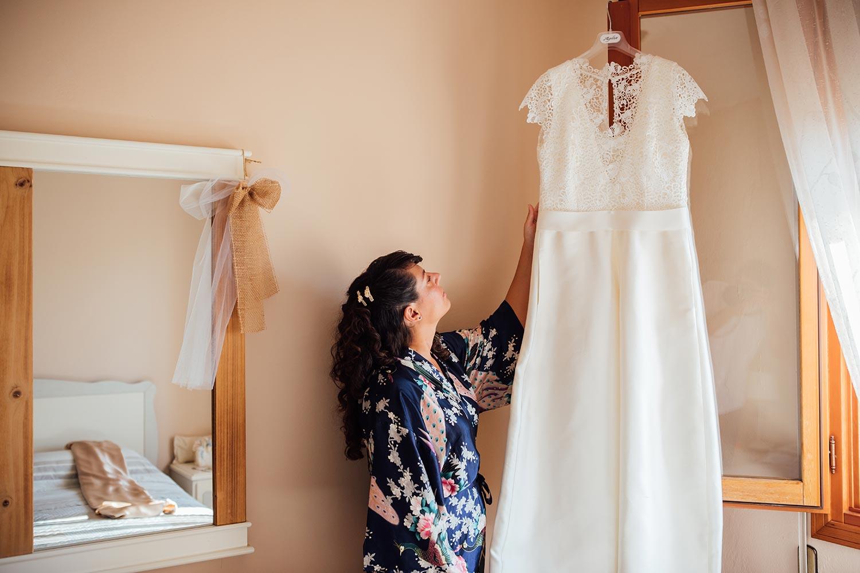 Wedding in Venice - Bride dress