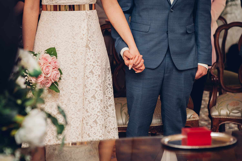 Matrimonio a Venezia con la pioggia, cerimonia a Palazzo Cavalli