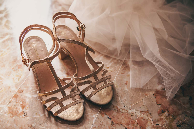 MATTIA & FRANCESCA MATRIMONIO ROCK - Le scarpe