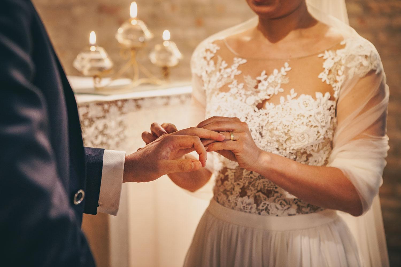 Matrimonio di Mattia e Francesca l'anello